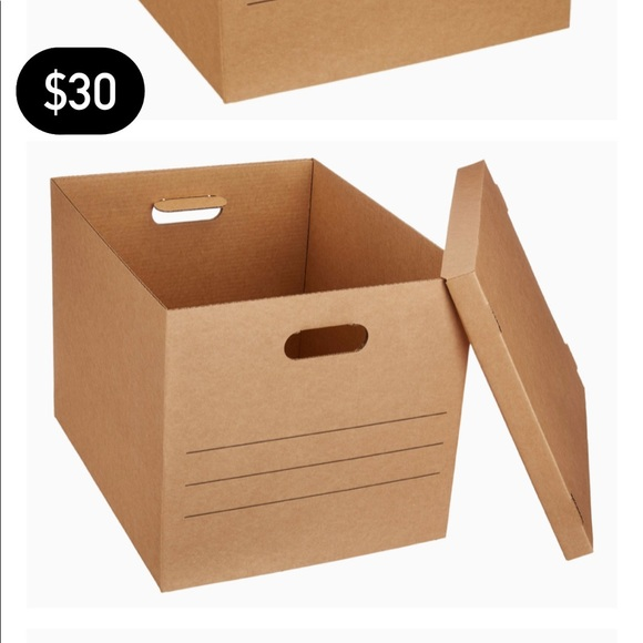 """5-Pack of (19""""x15.5""""x14.5"""") moving/ storage boxes"""
